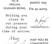 Stampin' Cards - Sympathy