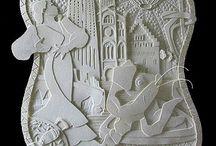 Papier Kunst / Andere kunstuitingen met papier