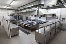 Professional kitchens / We are able to furnish to our restaurants or hotels this kind of professional kitchens.