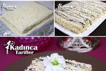 Pasta kek tatlı tarifleri
