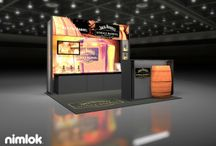 Smaller Exhibits / 10 x 10, 10 x 20 and 20 x 20 trade show exhibit displays and designs from various exhibit houses all over the globe.