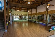 Beautiful Fitness Studio Spaces / Yoga studios, gyms, boutique studios, fitness finds!