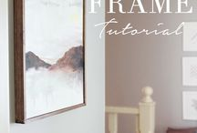 Canvas frames