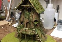 casas em miniatura