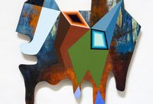 GEOMETRIC / ABSTRACT PAINTINGS