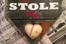 DIY softball craft