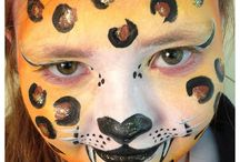 RainbowGecko Gallery Face Painting Designs