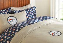 Broncos Bedroom Ideas
