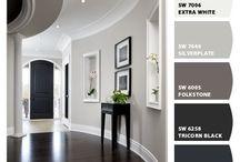 Paint floor living room