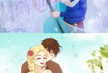 Frosty Kingdom / Jack Frost & Elsa