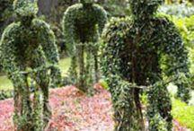 Arte no jardim