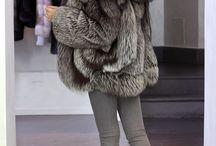 毛皮のコート Furcoat