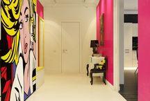 Pop art rooms