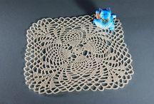 Crochet Doilies, Tablecloths, and Runners