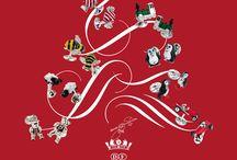 Christmas 2014 / A board inspired by the festive season.