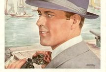 Vintage Hat Ads / Classic ads for classy hats