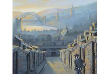 Peter Francis / I am a self-taught artist based in Newcastle upon Tyne. I work mainly with pastels and acrylics, either on their own or together, depending on the subject and style of a painting.I grew up in the North East so my work is inspired by the industry, sport, history and wildlife of the area. I try to capture the mood and atmosphere of places and events as well as the character and sense of humour of the region.