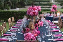 Hot Pink and Navy Wedding / by Lisa Howell