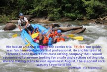 Rafting Reviews / Reviews given by our guests about there experience white water rafting with Carolina Ocoee.