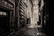 Dark Alley / Reference images for a personal project