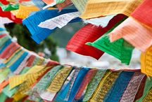 Prayer Flags / by Blue Sky Design Co.