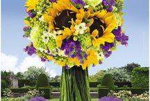 Le Bouquet au Jardin / Pour chaque fête, un magnifique bouquet de fleurs de saisons pousse au milieu de notre jardin... Promenez-vous au cœur de nos jardins et laissez fleurir vos sentiments !