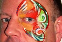 Kitty's eye design face paint / Different eyedesigns for adults