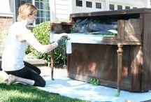 painting piano
