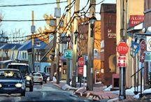 Paintings: Urban