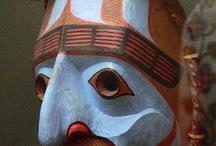Amérique, autochtones actuels - masques