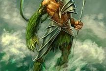 θεόs Ποσειδώναs