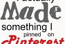 Pinterest Ideas I have Actually Done!
