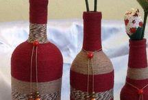 artesanato em garrafas