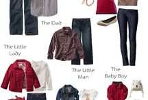 Clothing Considerations / Thoughts and Visuals for Family Portrait clothing selections