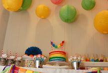 Rainbow Art Party / by Karen Savill