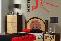 Bedroom styling for teen boys