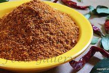 masala/spice powders