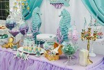 Little Mermaid Birthday Party.