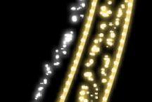 Svetelne motivy / Maximálna svietivosť vďaka horizontálne umiestneným LED