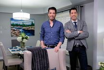 The Property Brothers / Drew and Jonathon from the Property Brothers