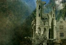 Beautiful Castles / Inspiration/research for future paintings...I want to paint some castles! :)
