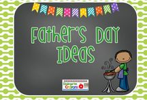 Father's Day Ideas / Ideas for you to use with your students for Father's Day! / by Kindergarten Crayons