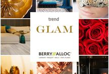 Trends // Glam / The colour palette consists of metallic gold & bronze tints, flame red & orange, complemented by deep blue, green-gray and black. Anything elaborate, baroque or over the top, is getting back on trend. Luxurious fabrics, rich silks, deep velvets, rich metals and sparkling cut crystal evoke a feeling of glamour.