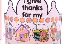 Thanksgiving Theme - November / by Becca Farmer