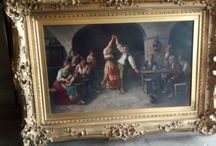 Oil Paintings and Watercolors / Art!