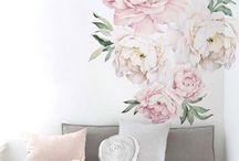 Floral Flower Interior Decoration
