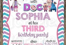 Party - Doc mcstuffins
