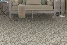 Rave Review / Rave Review: A floral damask carpet from Tuftex Carpets of California, cut and loop pattern