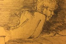 my work Terror kid #drawing #sketch #sketchbook #pencil #summer @campinglageneste #correze