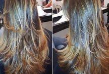 Penteados e cortes de cabelo